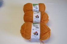 Vlna, akryl, oranžová č. 55005