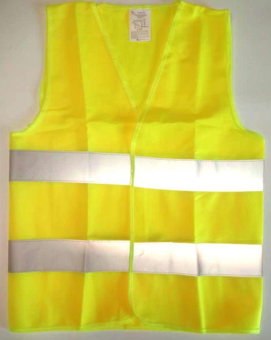 Dětská reflexní vesta, žlutá Dovoz