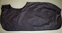 Bederní deka PLÁŠTĚNKA - č.13 - černá Daretex