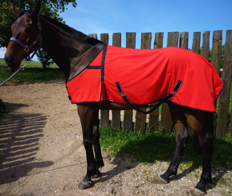 Bederní deka s rozparkem - hnědá Daretex