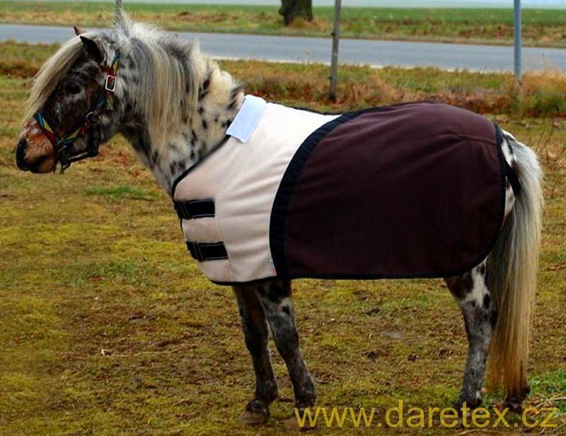 Deka fleecová pro minihorse, DUO Daretex