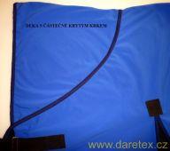 Deka s malým krkem, softshell Daretex