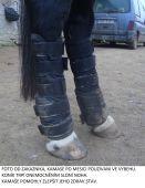 Kamaše na zadní nohy, dlouhé Daretex
