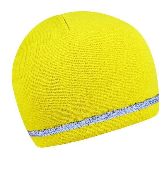 Reflexní čepice - žlutá Roly