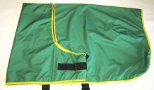 zelená č.5, se žlutým lemováním
