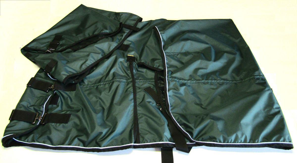tm.zelená s černým lemem a reflexní lem