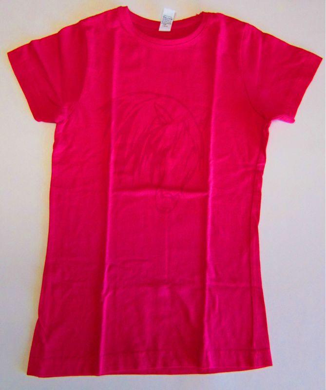 Tričko s koněm, růžové - S Daretex