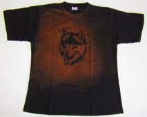 Tričko se psem Husky, výprodej Daretex
