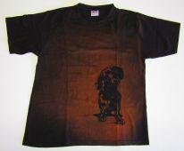 Tričko se psem Jezevčík, výprodej Daretex
